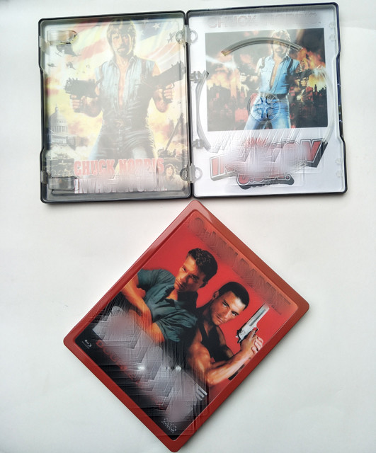 Best China hot sale 0.23mm color printing Blu-ray Tin box Steel book supplier Oem With Good Price