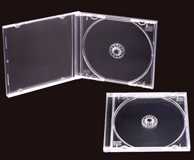 cd jewel case c-shell case and USB box