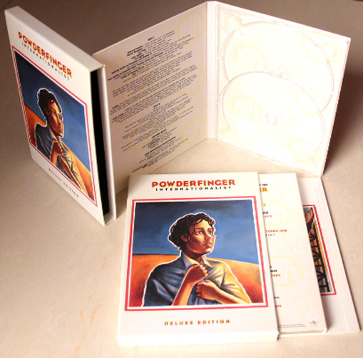 High Quality Music anniversary CD Hardcover slipcase+ dvd digipak+bound book Wholesale-TURNKEY