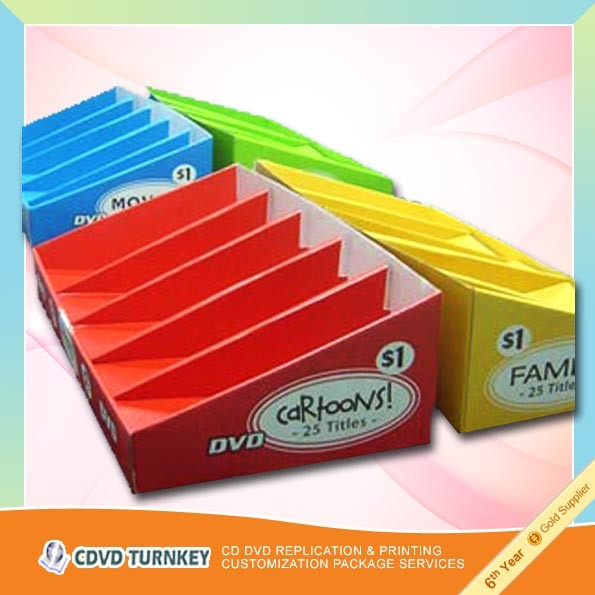 Corrugated display box and hand portable box