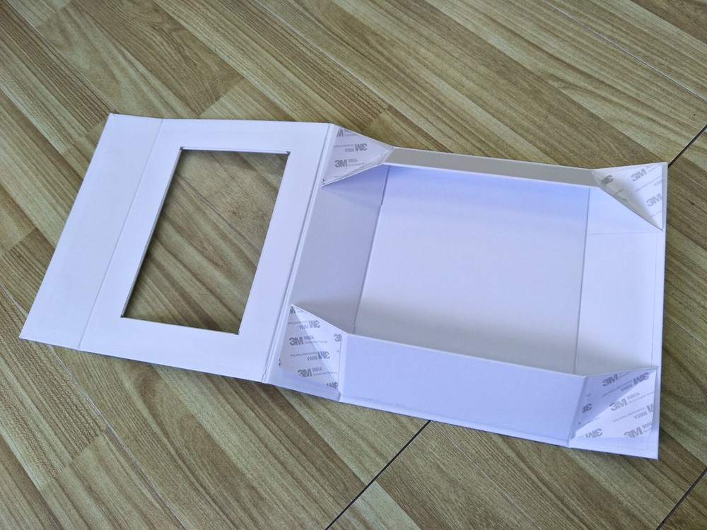 Foldable & Collapsible Storage Packaging Box