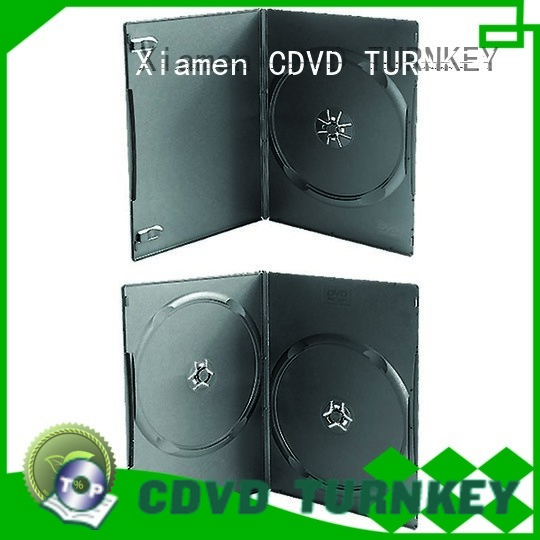 TURNKEY cshell cd dvd case directly sale for hotels