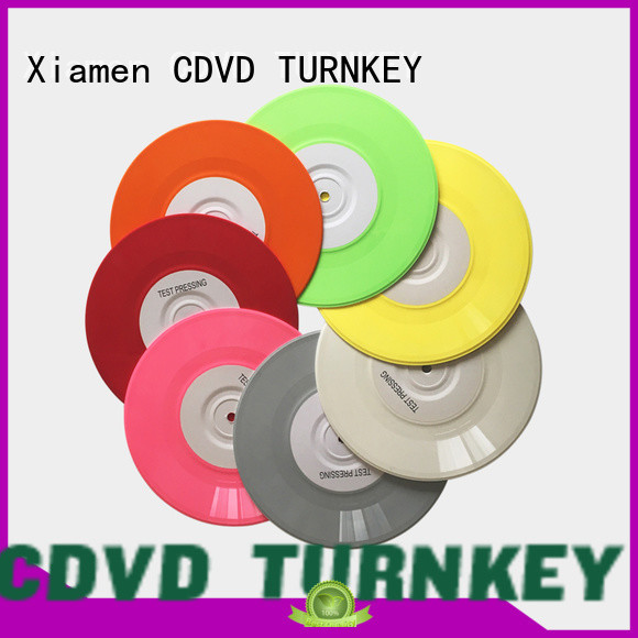 TURNKEY splatter record pressing printing and binding for home