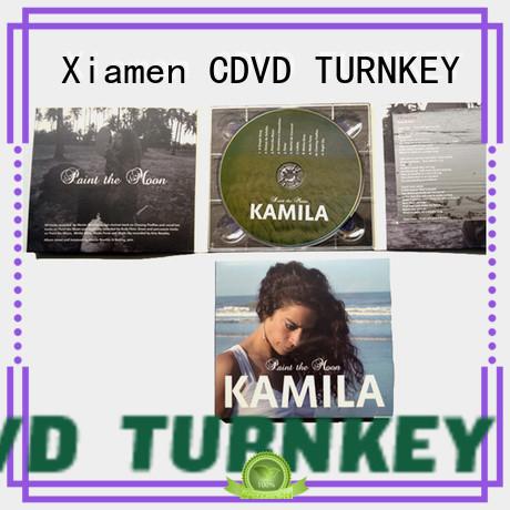 TURNKEY 8panel digipak printing manufacturers for shopping mall