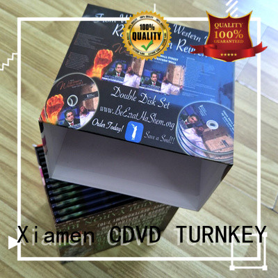 TURNKEY cd square box Supply for video
