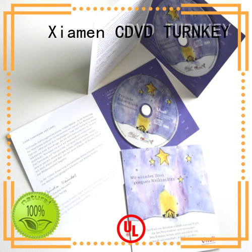 TURNKEY New cd cardboard packaging Supply for factory buildings
