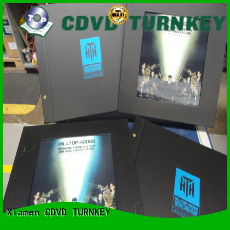 novel rigid box album companies for a flat plate