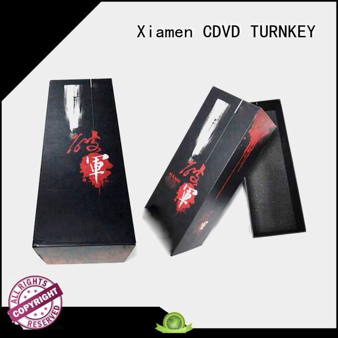 TURNKEY elegant wine gift box packaging environmental protection for work