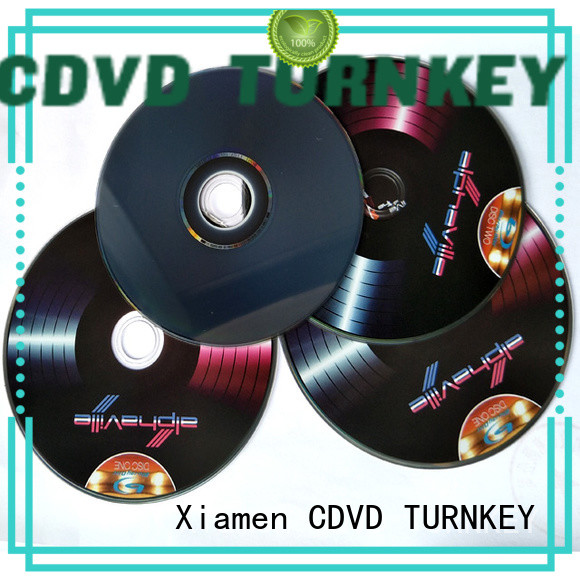 High-quality cd replication for business dining room