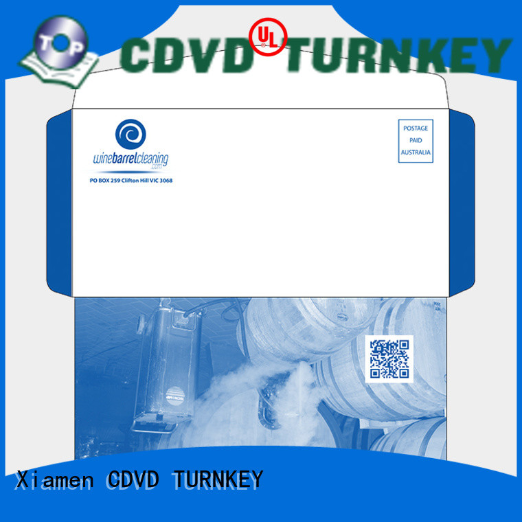TURNKEY 3d printed envelope directly sale for hotel