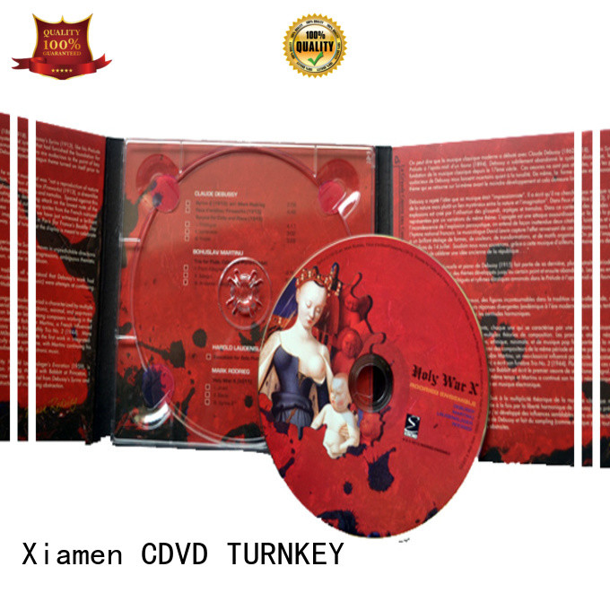 TURNKEY single dvd digipak trays Suppliers for shopping mall