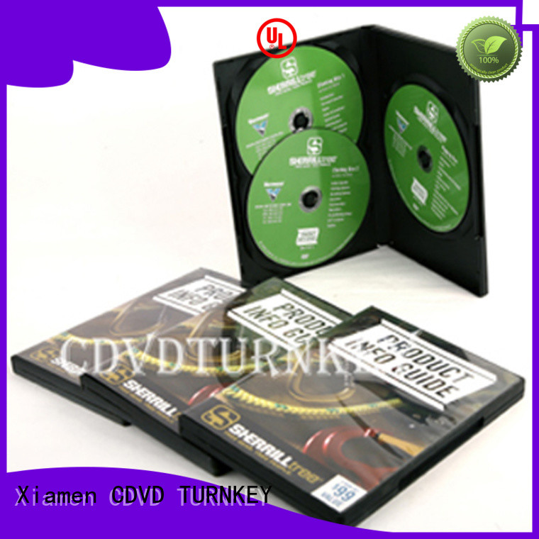 TURNKEY music dvd box factory for factory buildings