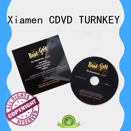 TURNKEY high-quality cd dvd christmas cards directly sale for industrial buildings