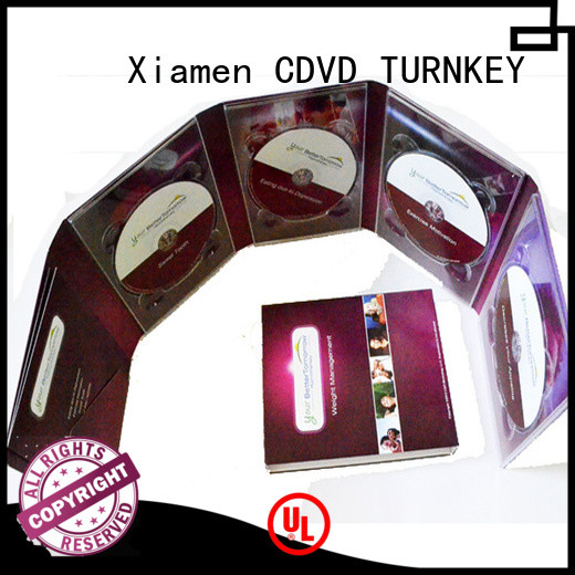 TURNKEY new-arrival dvd postcard transfer services for shopping mall