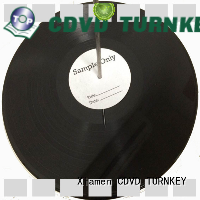 TURNKEY mixed vinyl record manufacturing printing and binding for wedding ceremony