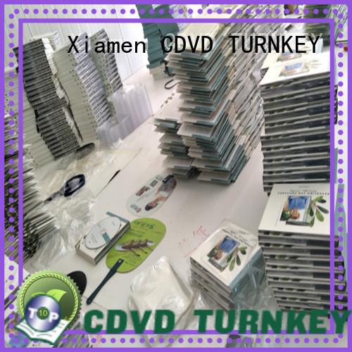 TURNKEY Latest cardboard digipak manufacturers for shopping mall