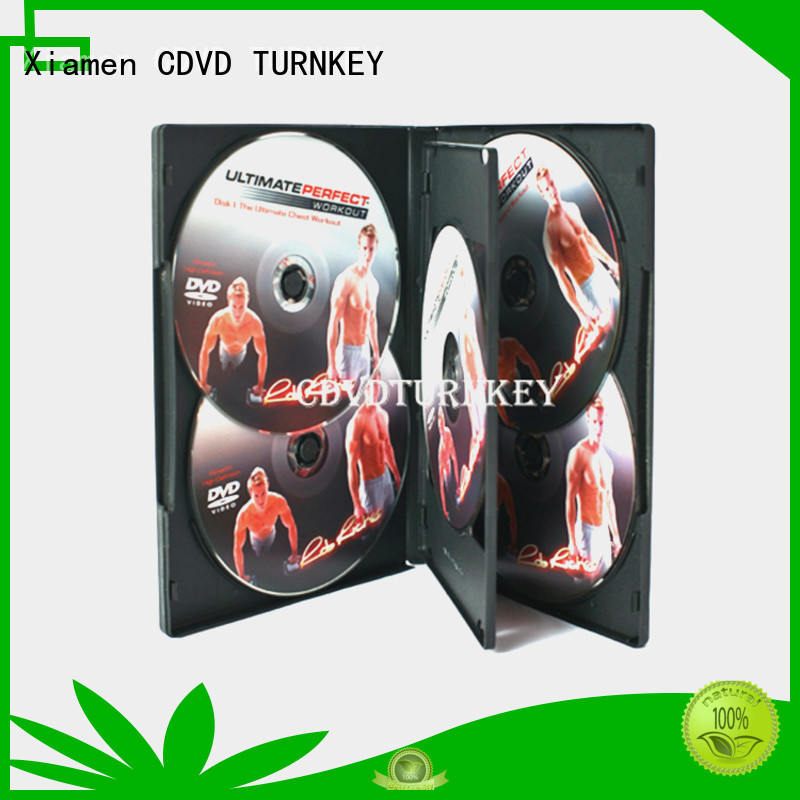 TURNKEY 4pcs PP cd case packaging factory for industrial buildings