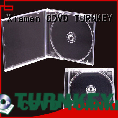TURNKEY easy-to-install slim dvd case factory in china for hotels