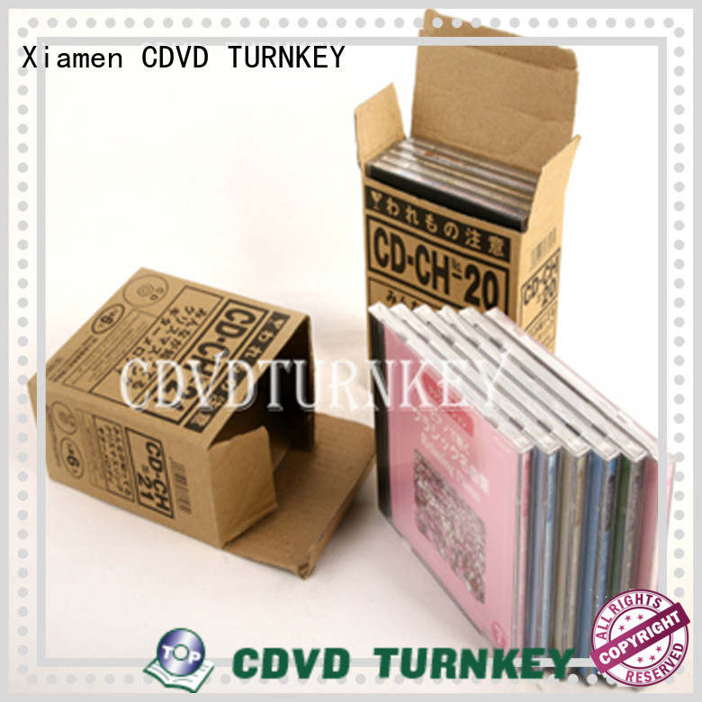 TURNKEY popular clear cd jewel case supplier for industrial buildings