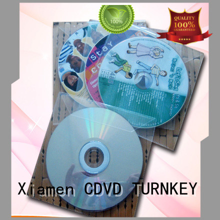 TURNKEY unique design cd paper sleeve factory sale for plant