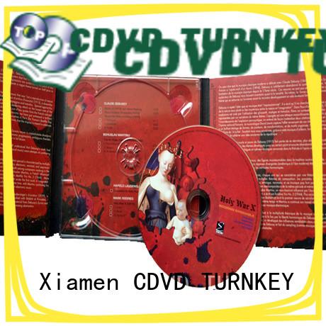pratical digipack cd printing directly sale for restaurant