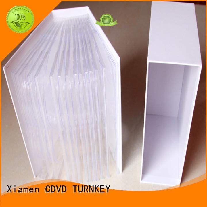 TURNKEY design cd digibook factory for restaurant