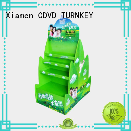 TURNKEY pratical cardboard display boxes wholesale suppliers for bridges