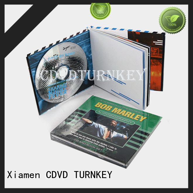 TURNKEY packagings dvd holder book Supply refectory
