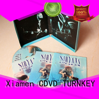 TURNKEY Customized cd box from China for person
