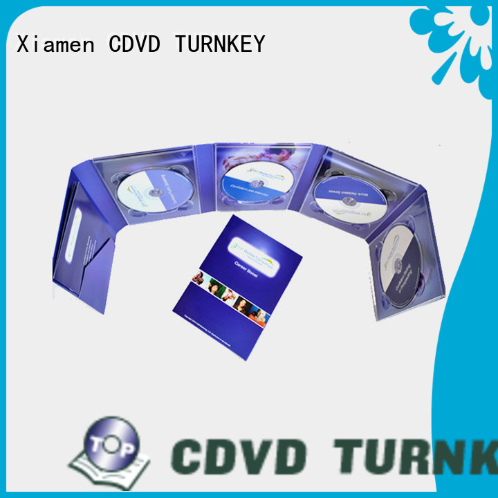 TURNKEY book dvd digipak trays directly sale for shopping mall