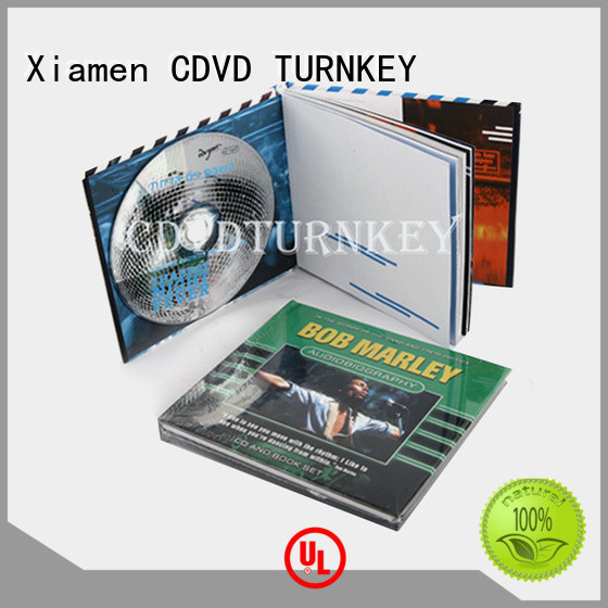 TURNKEY cover dvd holder book directly sale refectory