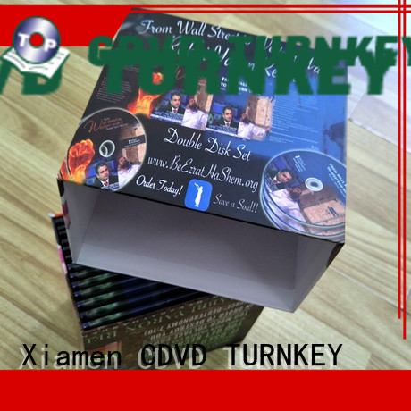TURNKEY satisfactory Customized cd box from China for person