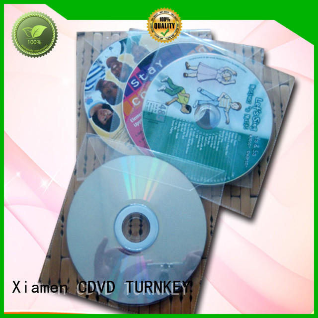 TURNKEY Latest cd plastic sleeve for business for plant