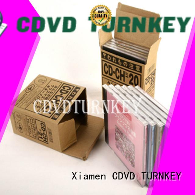 Custom PP cd case packaging packaging company for industrial buildings