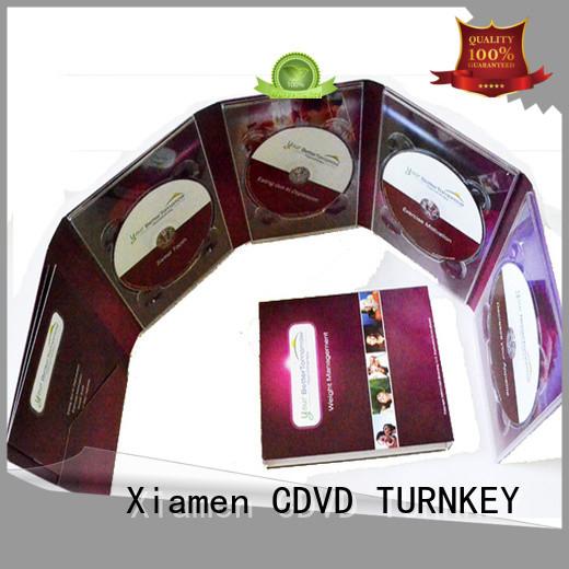 TURNKEY cdsdvds digipck package company for restaurant