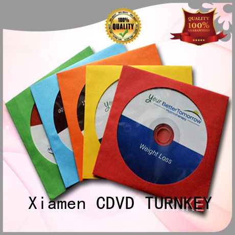 TURNKEY hot-sale Non-woven cd sleeve with good price for plant