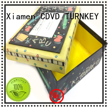 TURNKEY cube storage boxes promotion for project