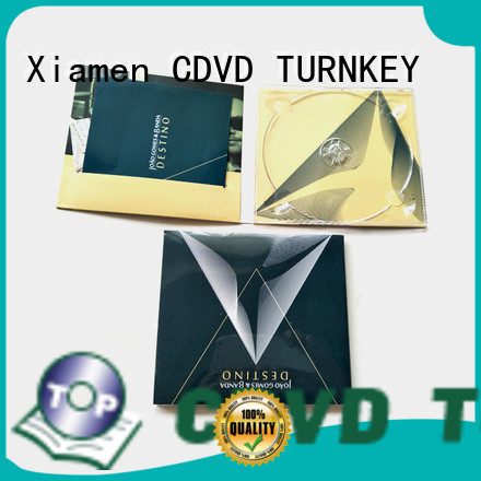 TURNKEY pratical digipack packaging transfer services cd for computer