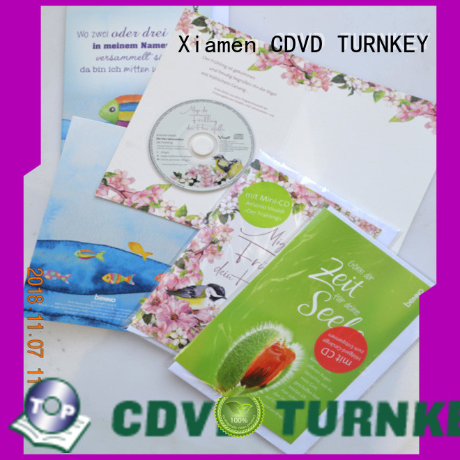 TURNKEY cd cd dvd christmas cards wholesale suppliers for buildings