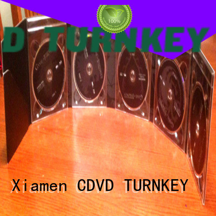 TURNKEY cdsdvds 4 panel cd digipak directly sale cd for computer