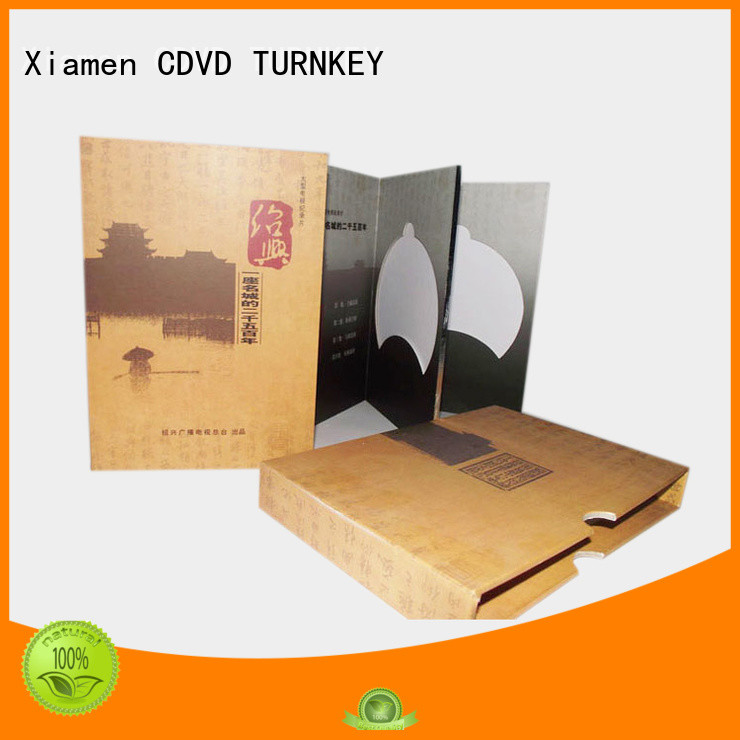 satisfactory clamshell book box from China for video