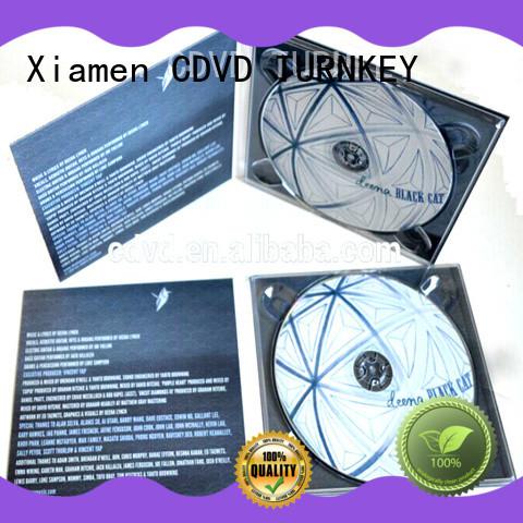 TURNKEY different size cd digipak transfer services for restaurant