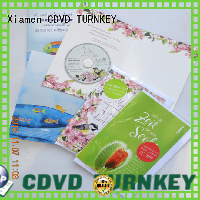 TURNKEY jacket cd dvd christmas cards wholesale suppliers for factory buildings