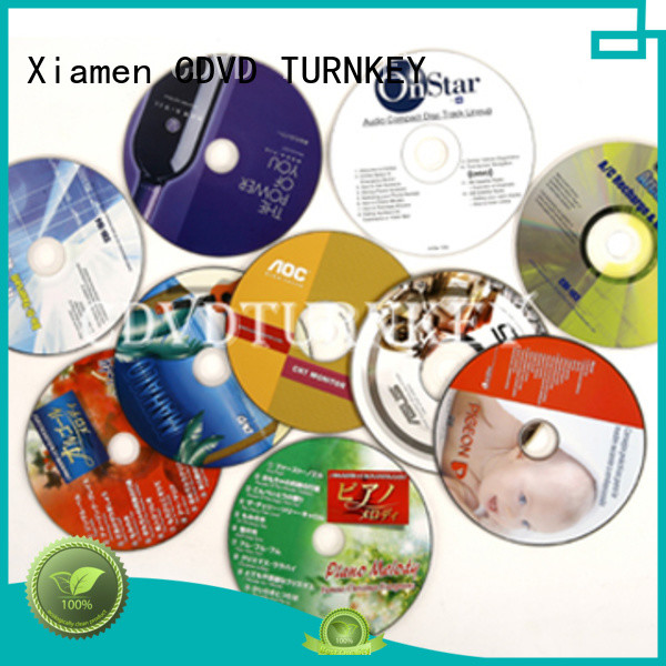 TURNKEY blu ray dvd advanced technology for bands