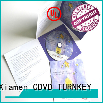 TURNKEY wallet cd dvd christmas cards wholesale suppliers for buildings