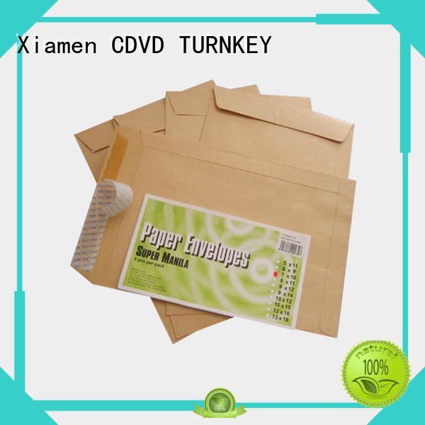 TURNKEY clear style custom printed envelopes directly sale for garden