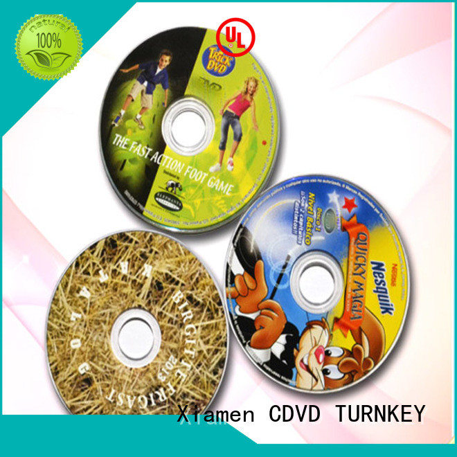 TURNKEY cd manufacturing factory dining room