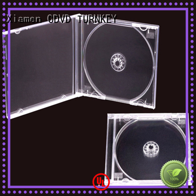 TURNKEY usb cd dvd case factory in china for hotels