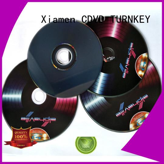 TURNKEY cd dvd copy promotion dining-hall