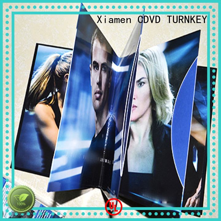 TURNKEY good quality cd book promotion dining-hall